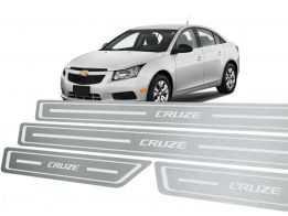 Soleira Standard Chevrolet Cruze Aço Inox Standard