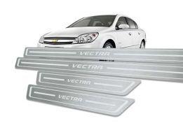 Soleira de Porta para Vectra Aço Inox Standard